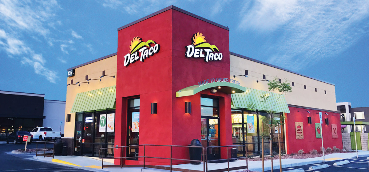 Del Taco food items
